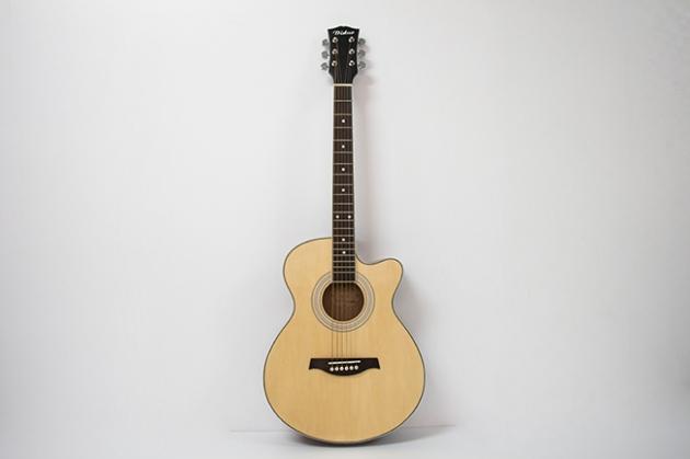 AGDG120CX-39吋民謠吉他缺角全椴木(平光) 原木色/黑色 定價2600 1