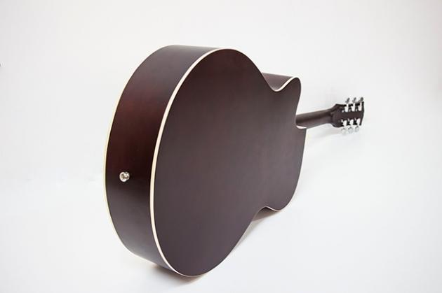 AGDG120CX-39吋民謠吉他缺角全椴木(平光) 原木色/黑色 定價2600 2