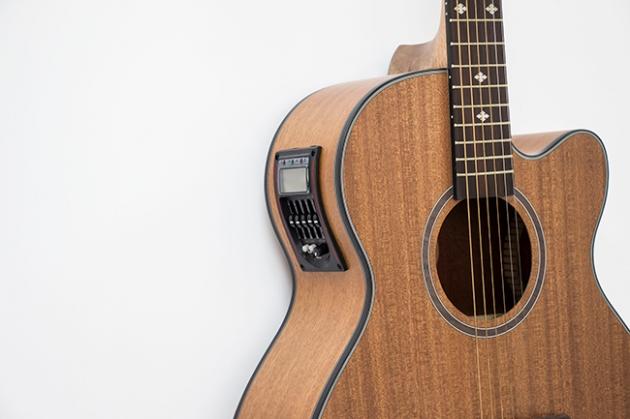 AGDK145EQ-39吋民謠缺角(全沙比利)平光+5EQ調音 定價6000 2