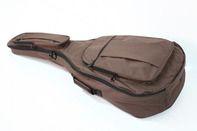 A6 41吋 高級牛津布民謠袋(厚度12MM)雙肩背(咖啡色) 1