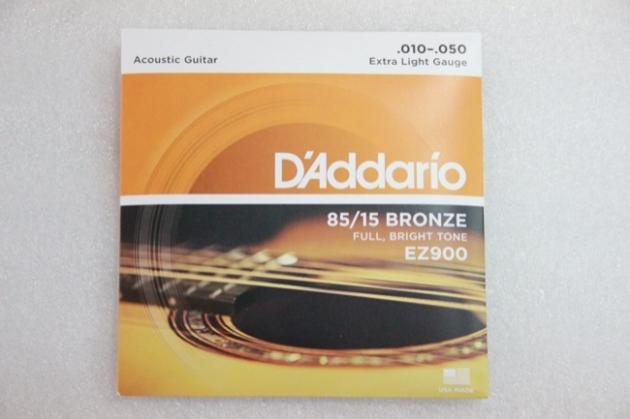 A107 D'addario 民謠弦 EZ900 1