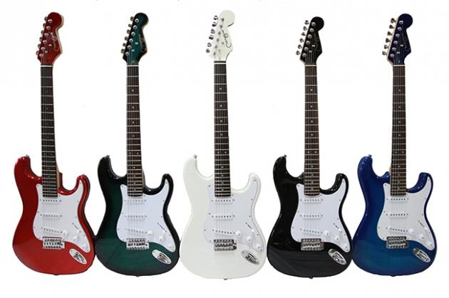 B3B 三麥克電吉他(Fender型)5色 1