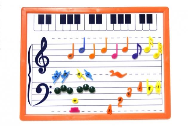 C64 磁鐵板(組)含音符荳荳 1