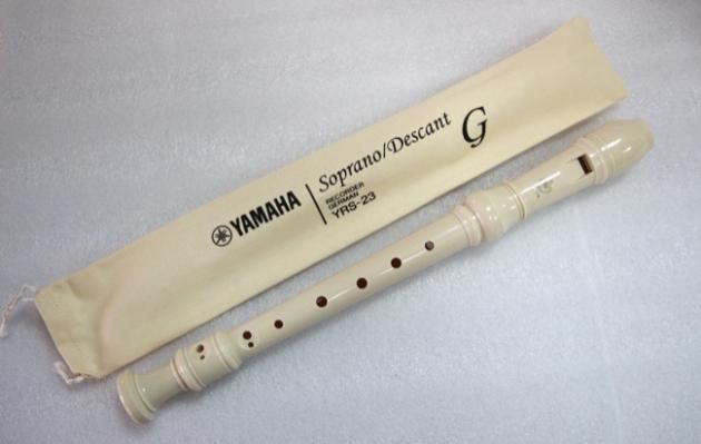 C83 Yamaha直笛(德式)23高音 1