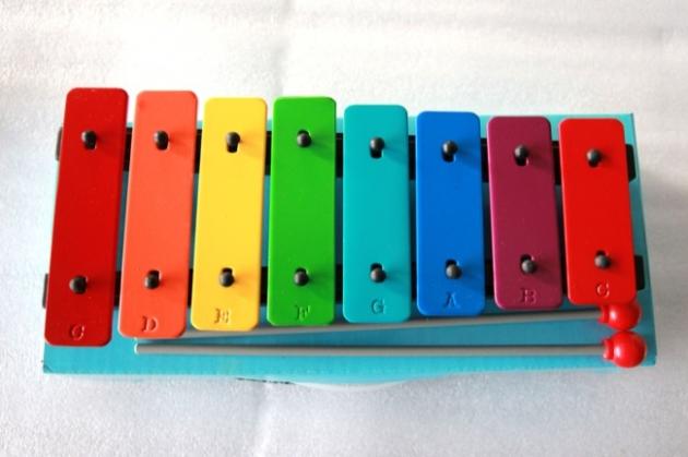 C95 彩色鐵琴8音C-C 1