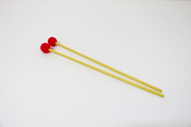 C115A,C115B,C115C - 木鐵琴棒(毛線)(彩色)-高音紅,中音綠,低音彩 1