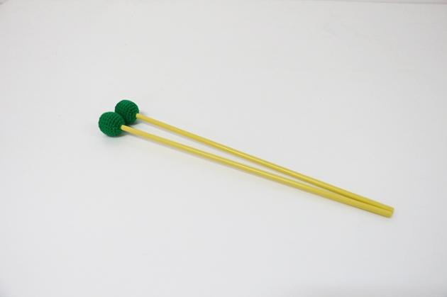 C115A,C115B,C115C - 木鐵琴棒(毛線)(彩色)-高音紅,中音綠,低音彩 2