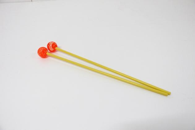 C115A,C115B,C115C - 木鐵琴棒(毛線)(彩色)-高音紅,中音綠,低音彩 3