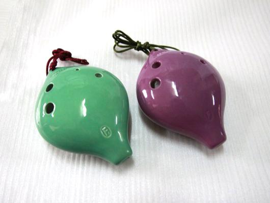 C128,C129,C130A - 陶笛6孔 C調 F調 (高音,中音) 陶瓷 3