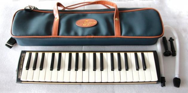 D1 鈴木口風琴37鍵中音 M-37C 日本原裝 1
