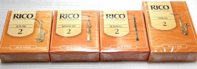 G78 Rico 竹片-Tenor,Alto,Soprano,黑管 1