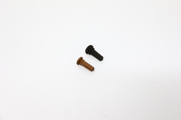 H57A 小提琴尾栓(黑色,棗木) 1