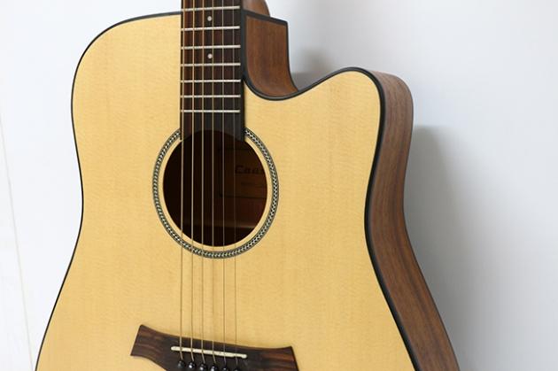 AGTK6C-41吋面單缺角民謠吉他 $6600 2