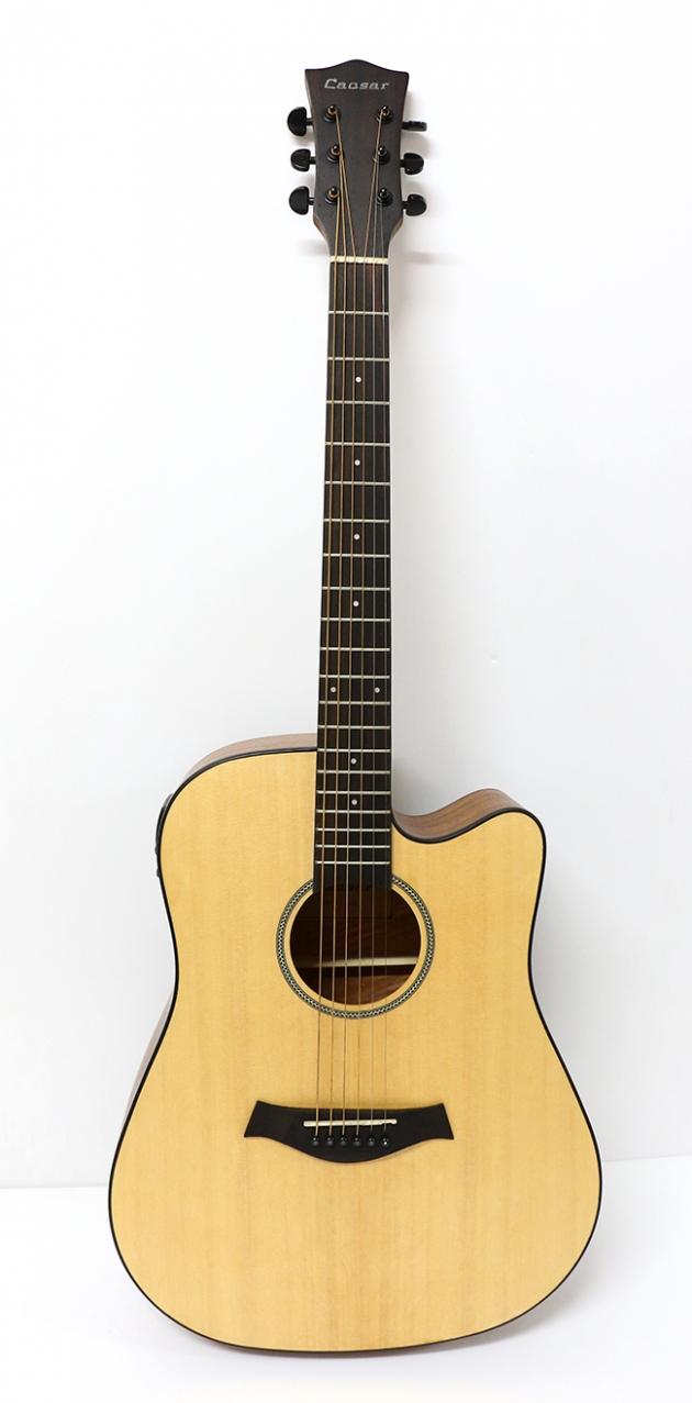 AGTK6CEQ 41吋面單缺角民謠吉他+5EQ $8600 1
