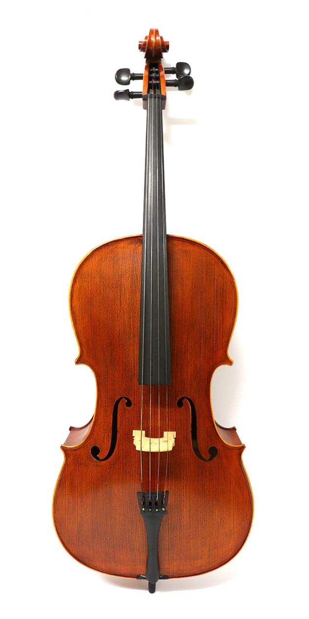 H25C 大提琴附袋(虎紋仿古)1/2 1