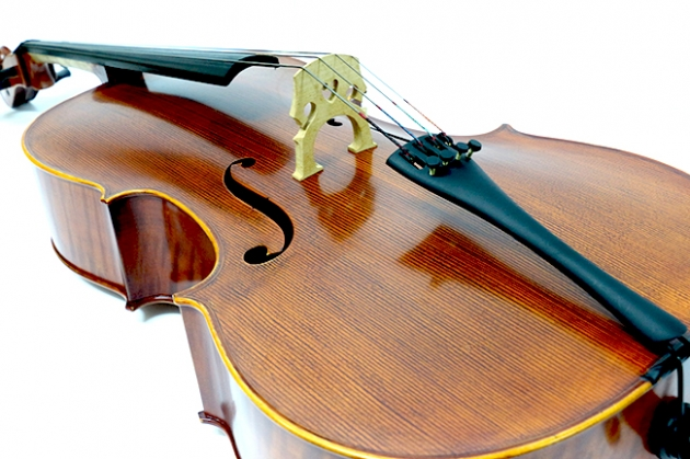 H25C 大提琴附袋(虎紋仿古)1/2 2