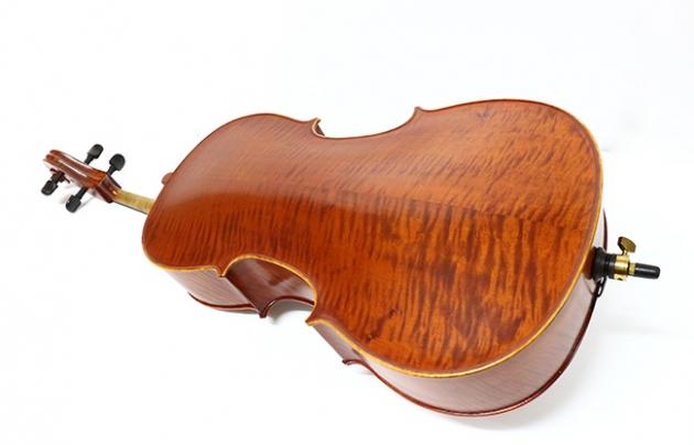 H25C 大提琴附袋(虎紋仿古)1/2 3