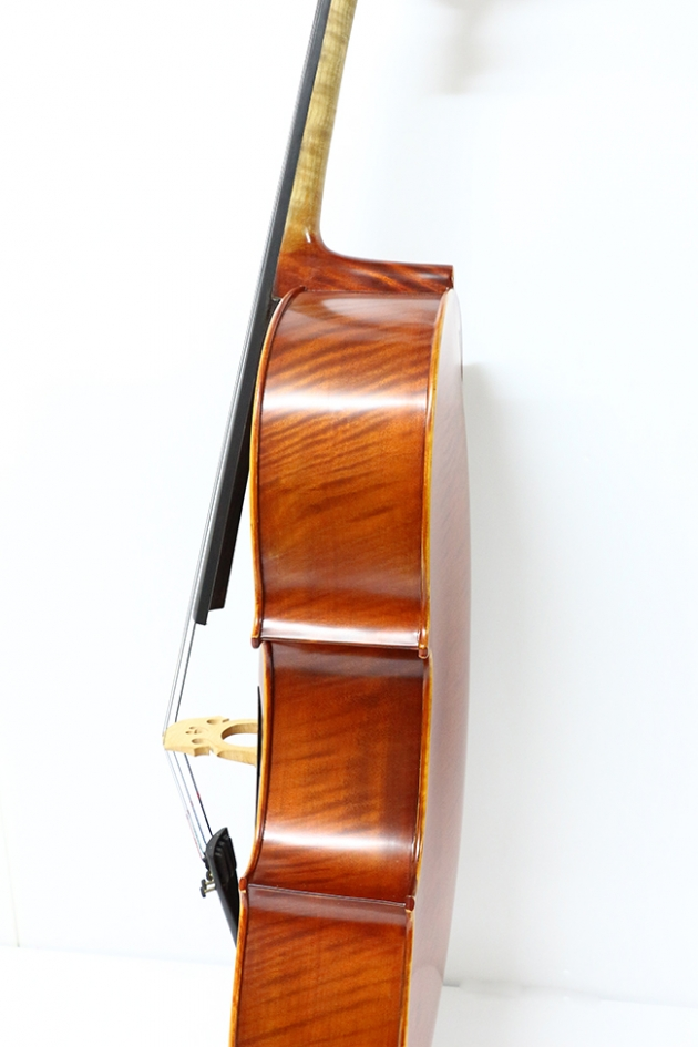 H25C 大提琴附袋(虎紋仿古)1/2 4