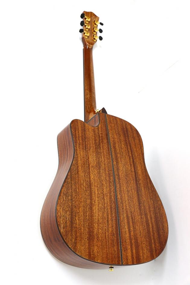 AGAK500 41吋全單板 西提卡雲杉,非洲桃花芯 民謠吉他(配送貼皮木盒) 2