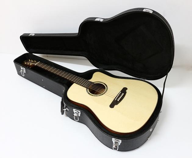 AGAK500 41吋全單板 西提卡雲杉,非洲桃花芯 民謠吉他 6