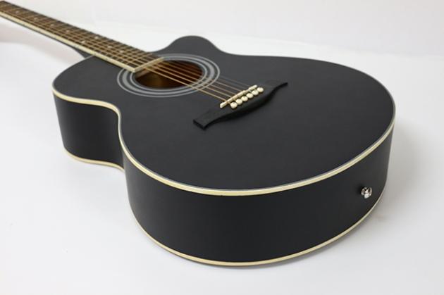 AGDG120CX-39吋民謠吉他缺角全椴木(平光) 原木色/黑色 定價2600 6