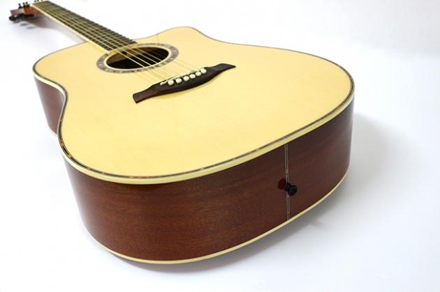 AG4163C-41吋民謠吉他缺角(雲杉沙比利)亮光 定價6500 4