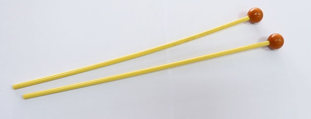 C115 木琴棒(付)橘塑頭(硬)長 1