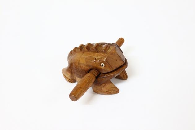 C27A 青蛙木魚5吋 1