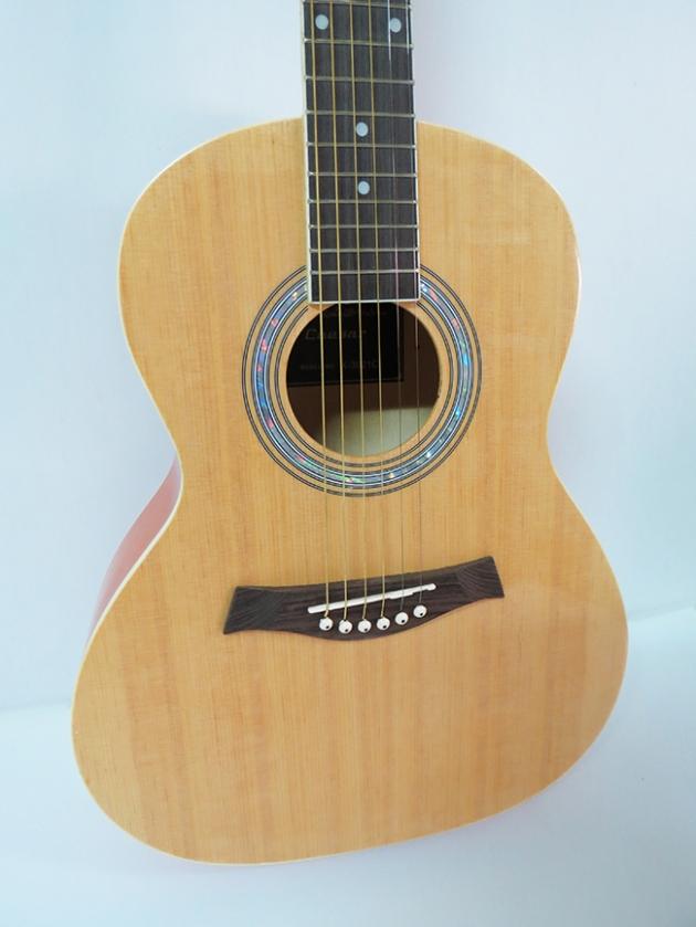 AGX3621 36吋民謠吉他-背中線(雲杉椴木/桃花芯琴頸) 2