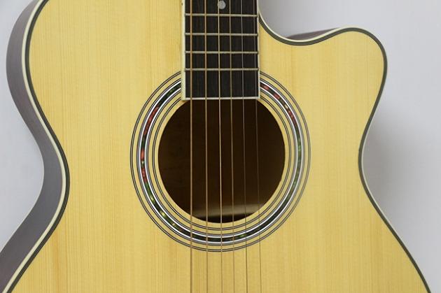 AGDG220CX-40吋民謠吉他缺角-面雲杉/側後椴木(平光) 定價3000 3