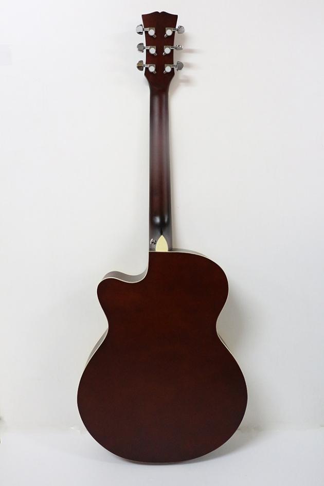 AGDG220CX-40吋民謠吉他缺角-面雲杉/側後椴木(平光) 定價3000 4