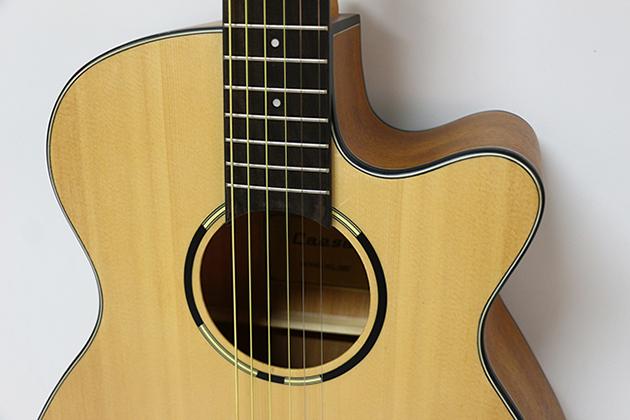 AGWL700-40吋面單缺角民謠吉他 $6000 2