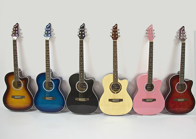 AG4113-39吋民謠吉他缺角-亮光 (6色可選) 定價2600 1