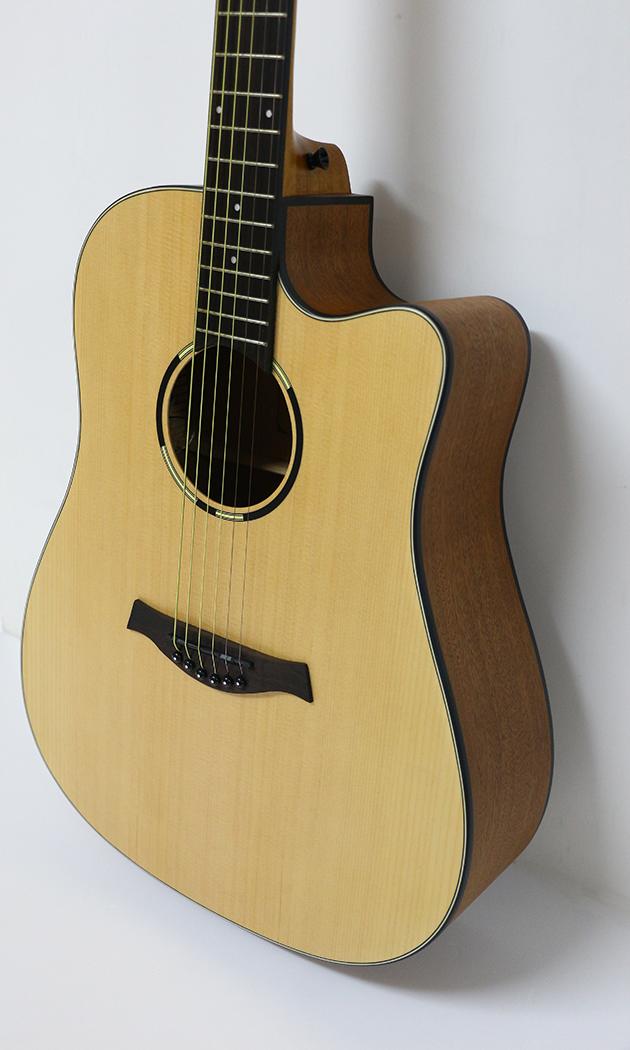 AGWL800-41吋面單缺角民謠吉他 $6600 2