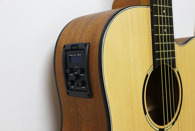 AGWL800EQ 41吋面單缺角民謠吉他+5EQ $8600 2