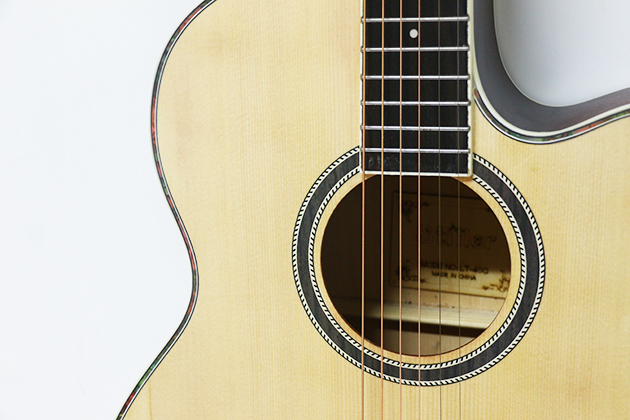 AGDG220CX-40吋民謠吉他缺角-面雲杉/側後椴木(平光) 定價2600 3